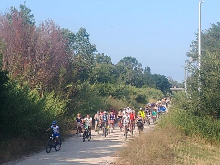 Riserva Borsacchio, escursione in bicicletta ai Caliscendi di Giulianova