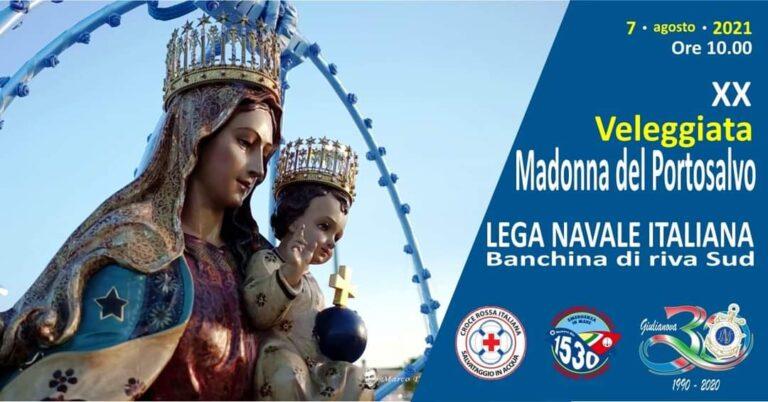Giulianova, veleggiata per la festa della Madonna del Portosalvo