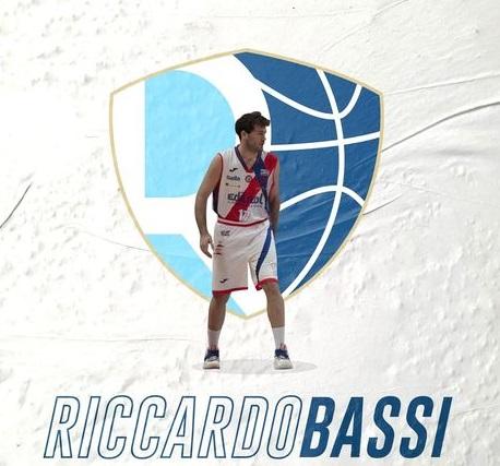 Basket, la Liofilchem Roseto si rinforza sotto le plance: arriva Riccardo Bassi