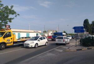 Pineto, incidente a Scerne: traffico bloccato sulla statale