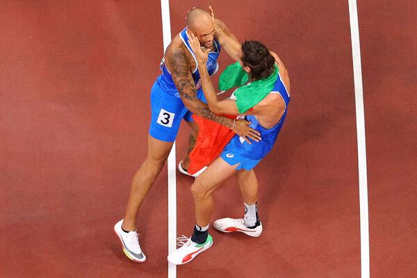 Olimpiadi, Tamberi conquista l'oro nel salto in alto