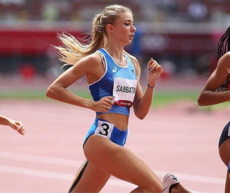 Olimpiadi, una caduta rallenta Gaia Sabbatini che fa comunque primato personale