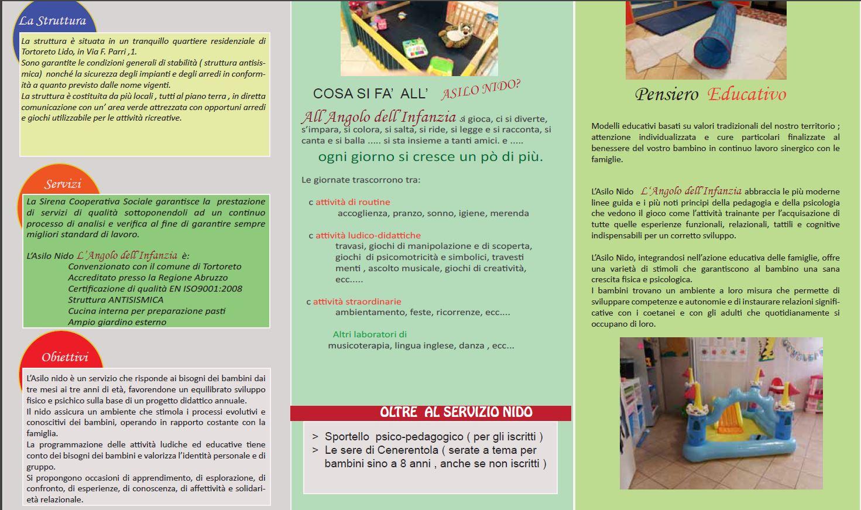 ASILO NIDO SIRENA a Tortoreto: angolo gioioso per i bambini