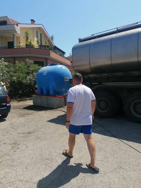 Silvi, Scordella chiama Protezione civile risponde: due autobotti per l'emergenza idrica