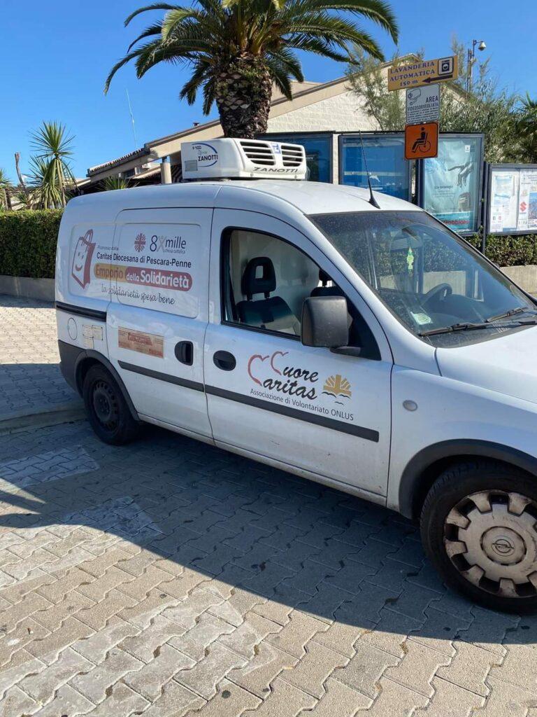 Pescara: 150 chilo di latticini sequestrati e donati alla Caritas