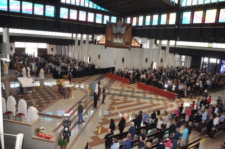 San Gabriele, al santuario il giubileo del lavoro e delle attività produttive