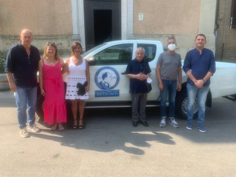 Asp 2 Teramo: nuovo mezzo per l'azienda agraria Ricciconti