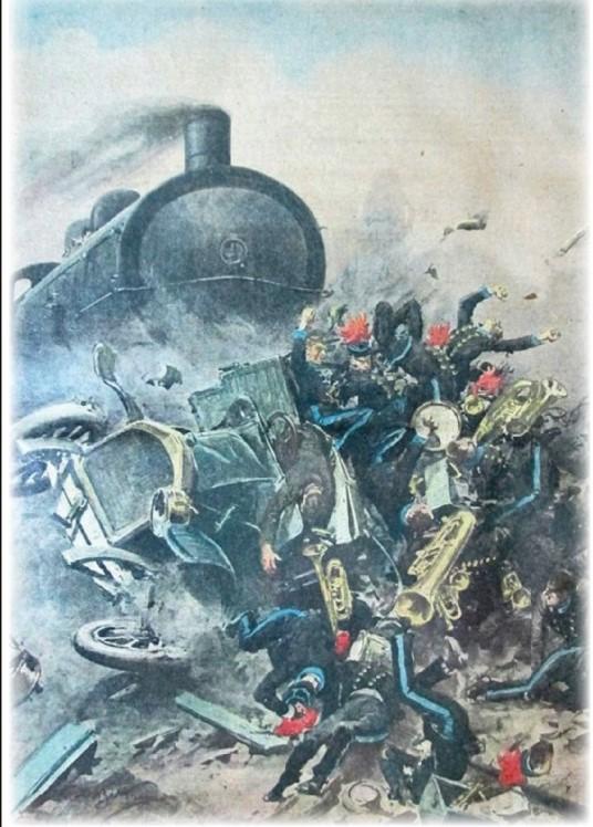 Silvi ricorda la tragedia dell'incidente ferroviario del 1922