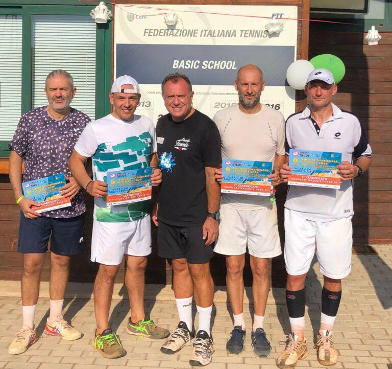 Tennis, i risultati del 6° Torneo Nazionale Veterani