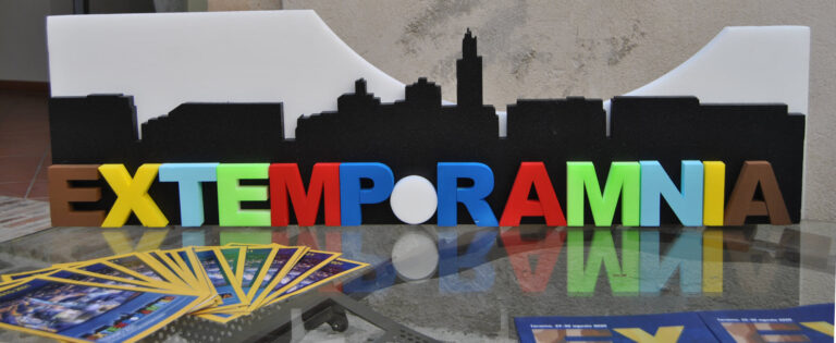 Teramo, Sandro Galantini presidente onorario di Extemporamnia2021