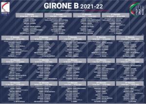Serie C, il calendario di Pescara e Teramo. Derby il 14 novembre