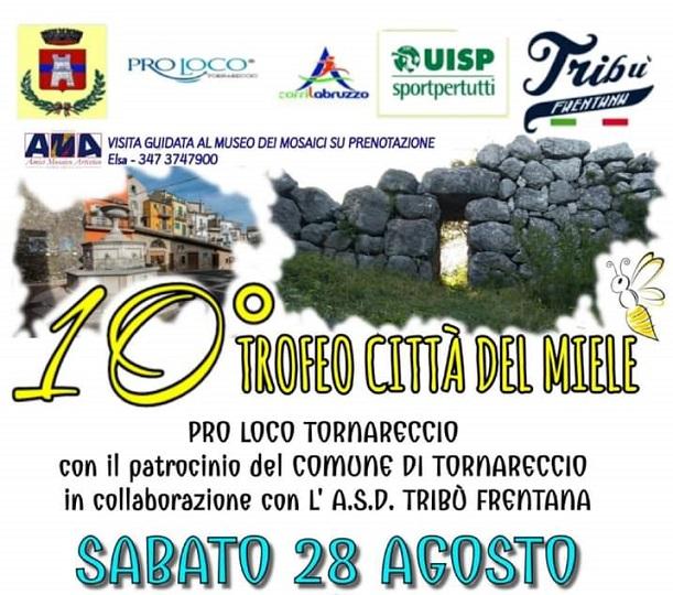 Podismo, a Tornareccio il 10°Trofeo Città del Miele: l'evento torna dopo otto anni