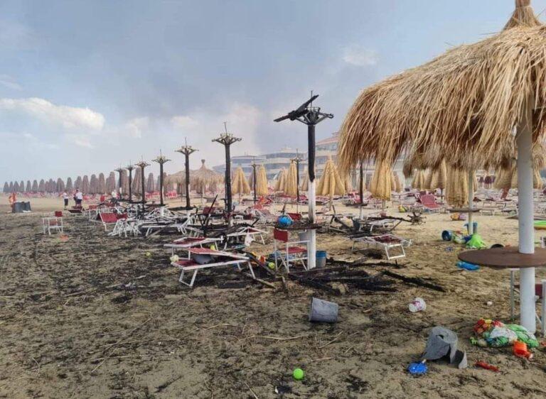 Pescara, incendi sotto controllo: una quindicina i focolai
