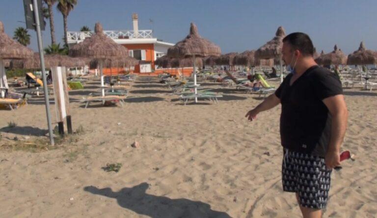Cologna, madre e figlio in vacanza punti da un ago di siringa abbandonata sulla spiaggia libera NOSTRO SERVIZIO