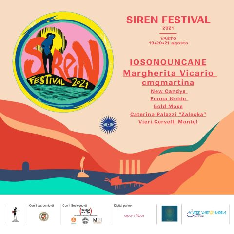Vasto, tanti ospiti al Siren Festival