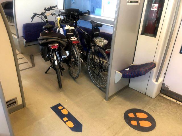 Via Verde della Costa dei Trabocchi,  l'incognita della bici sul treno