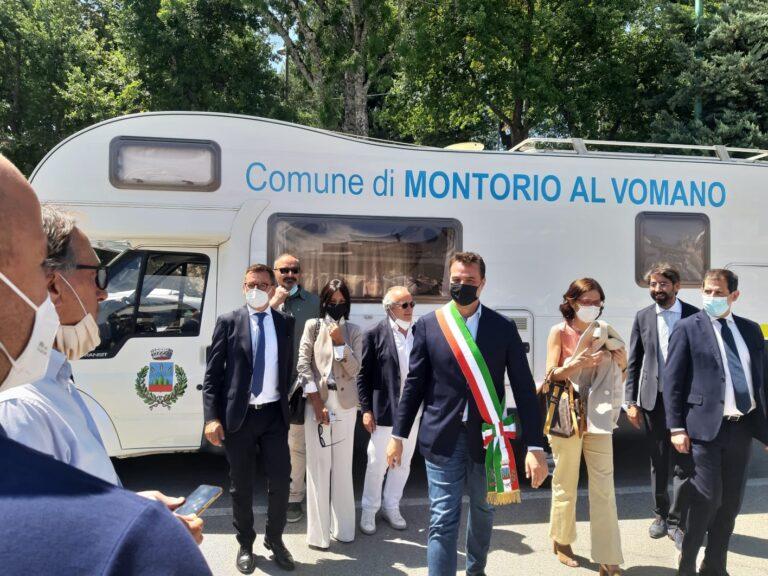 Montorio, il Comune diventa mobile: camper-ufficio operativo da settembre