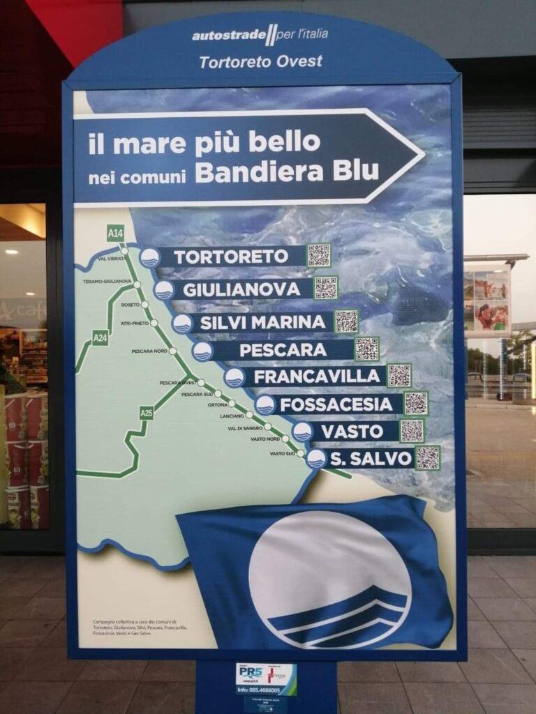"""Comuni Bandiera Blu, nella vetrina di Autostrade manca Pineto. Fratelli d'Italia al sindaco: """"E' ingiustificabile"""""""
