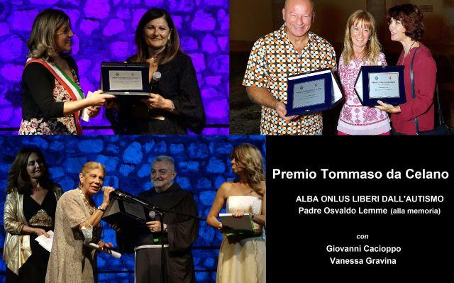 Il 'Premio Tommaso da Celano' nel nome della solidarietà