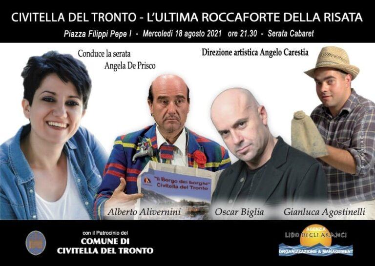 """Cabaret, a Civitella del Tronto """"l'ultima roccaforte della risata"""""""