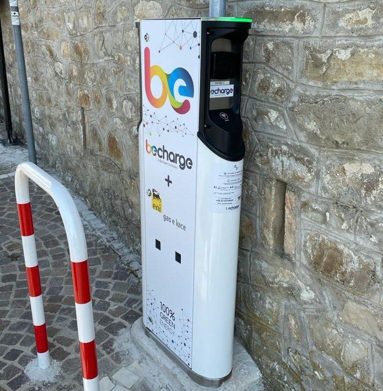Val Fino: a Montefino la prima colonnina per ricaricare auto elettriche