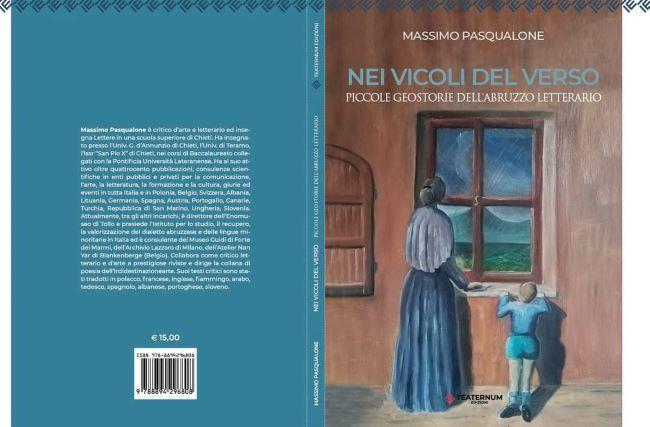 Vacri, presentazione del libro del critico letterario Massimo Pasqualone 'Nei vicoli del verso'