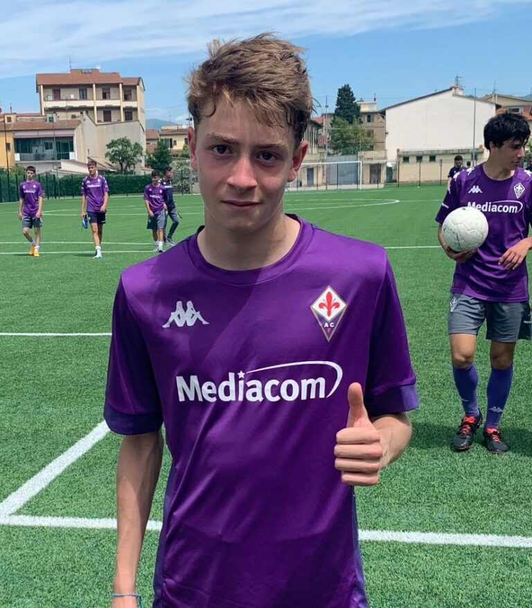 Sant'Omero, il giovane Jacopo Di Pierdomenico firma con la Fiorentina