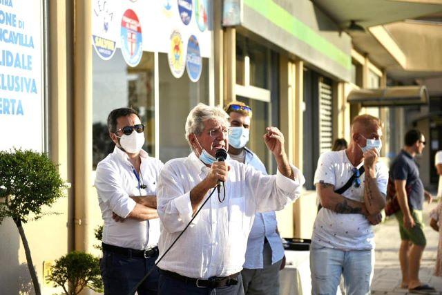Elezioni Francavilla, Angelucci inaugura il comitato elettorale