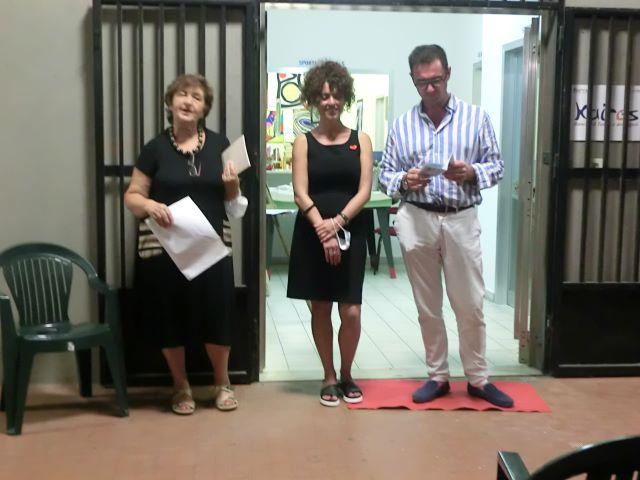 Francavilla, inaugurata la mostra personale di Stefania Barile