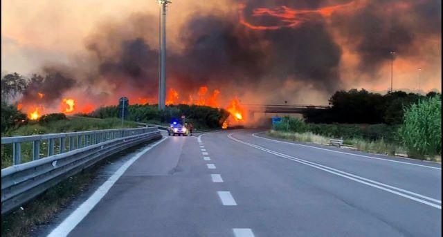 Incendi Fossacesia, il Comune avvia il censimento dei danni al patrimonio pubblico e privato