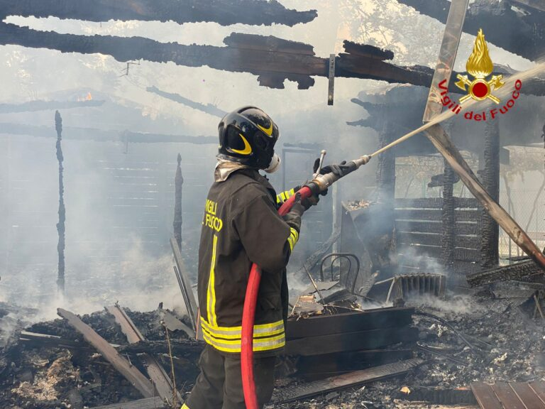 Incendio Pescara: scoperti almeno 3 punti di innesco