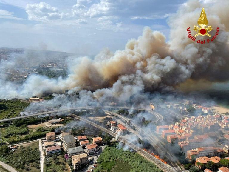 Incendio Pescara: chiesto lo stato di emergenza