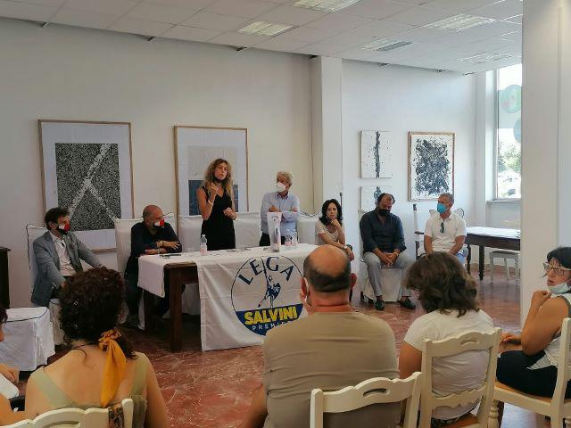 Disabilità, il Ministro Stefani a Francavilla incontra le associazioni con il candidato sindaco Angelucci