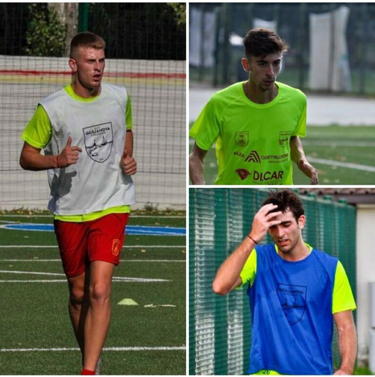 Eccellenza, 4 nuovi colpi per l'ASD Giulianova: venerdì amichevole con il Porto d'Ascoli