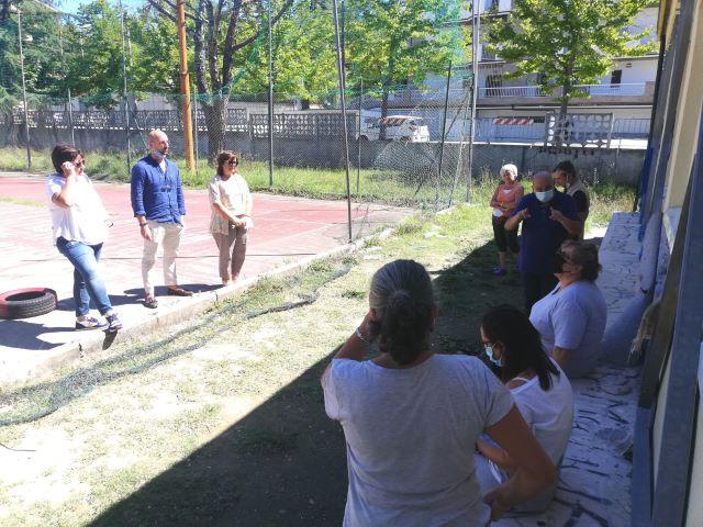 Chieti, lavori nei plessi scolastici: sopralluoghi in via Amiterno