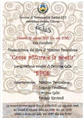 Torrevecchia Teatina, verso una serata all'insegna della cultura con Massimo Pasqualone e Carmine Galiè