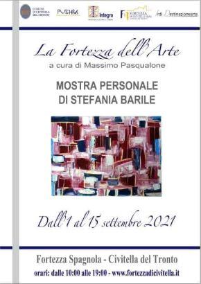 Civitella del Tronto, alla Fortezza Spagnola la mostra personale di Stefania Barile