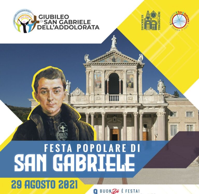 Festa popolare di San Gabriele: il programma al santuario di Isola