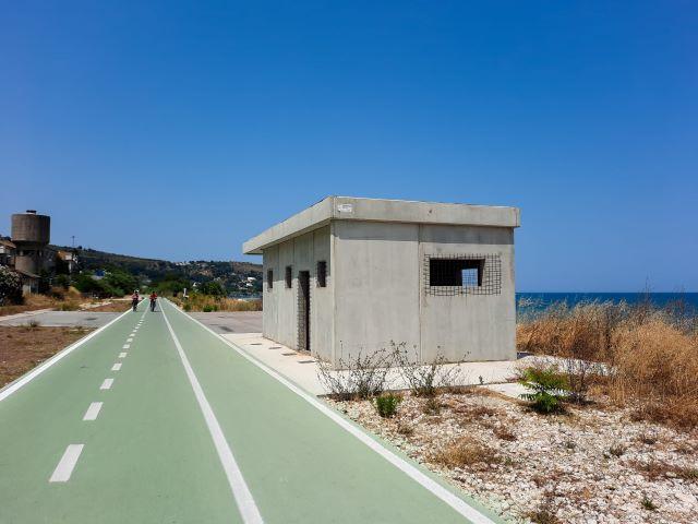 Fossacesia, la Soprintendenza chiede alla Provincia la rimozione del manufatto in cemento sulla Via Verde