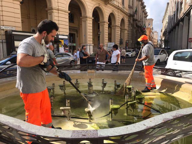 Chieti, manutenzione fontane e controlli per fontanella di Sant'Anna