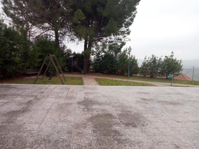 Nuovo parco giochi a Poggio Morello: partiti i lavori