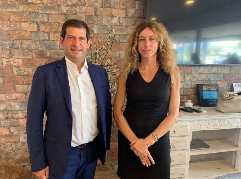 Visita del ministro Erika Stefani in Abruzzo