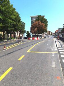 Atri, viabilità sicura: rotonda temporanea tra la SS553 e viale Risorgimento