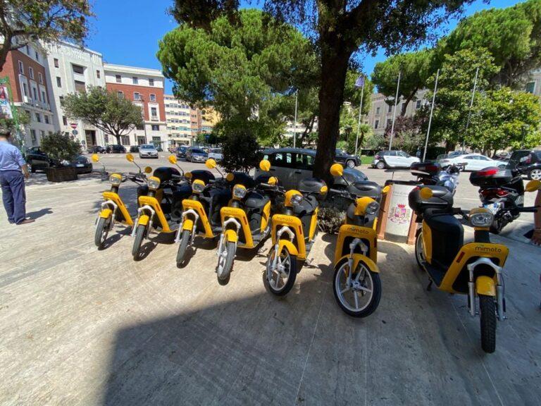 Pescara, dopo i monopattini ecco gli scooter elettrici a noleggio