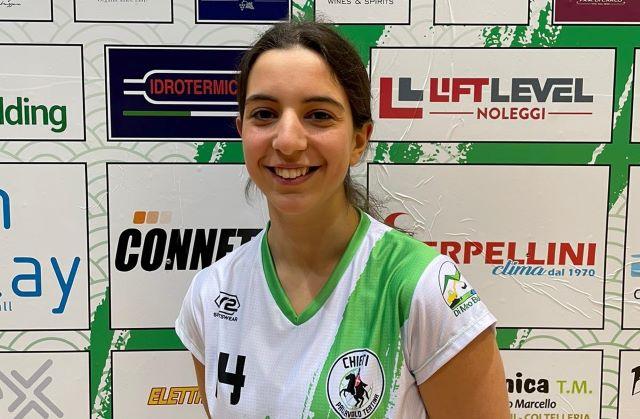Pallavolo Teatina, un innesto dal settore giovanile: Serena Cardellicchio