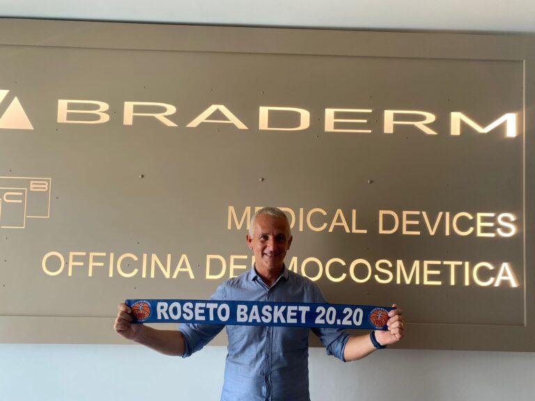 Basket, Sergio Marini è il nuovo responsabile organizzativo del Roseto 20.20