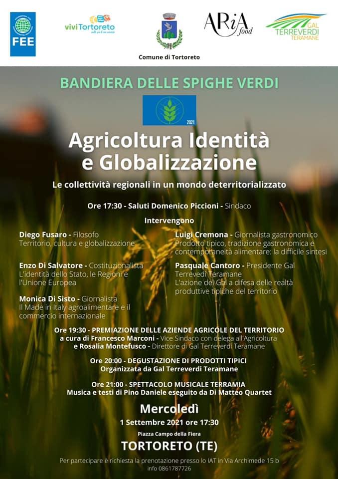 Tortoreto, agricoltura, identità, globalizzazione: l'importante iniziativa nel centro storico