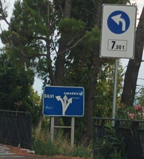 Atri in Azione, le criticità della rotonda tra SS553 e viale Risorgimento
