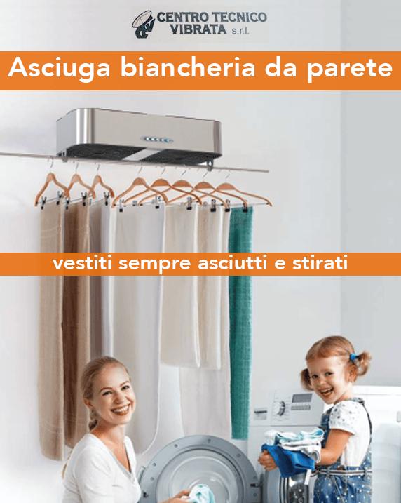 Centro Tecnico Vibrata: la soluzione per asciugare i panni