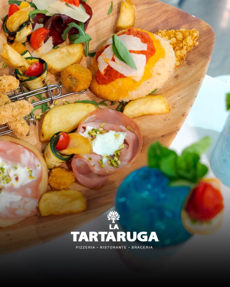 La bontà della pizza Gourmet e di aperitivi alternativi in un ambiente green presso lo CHALET LA TARTARUGA